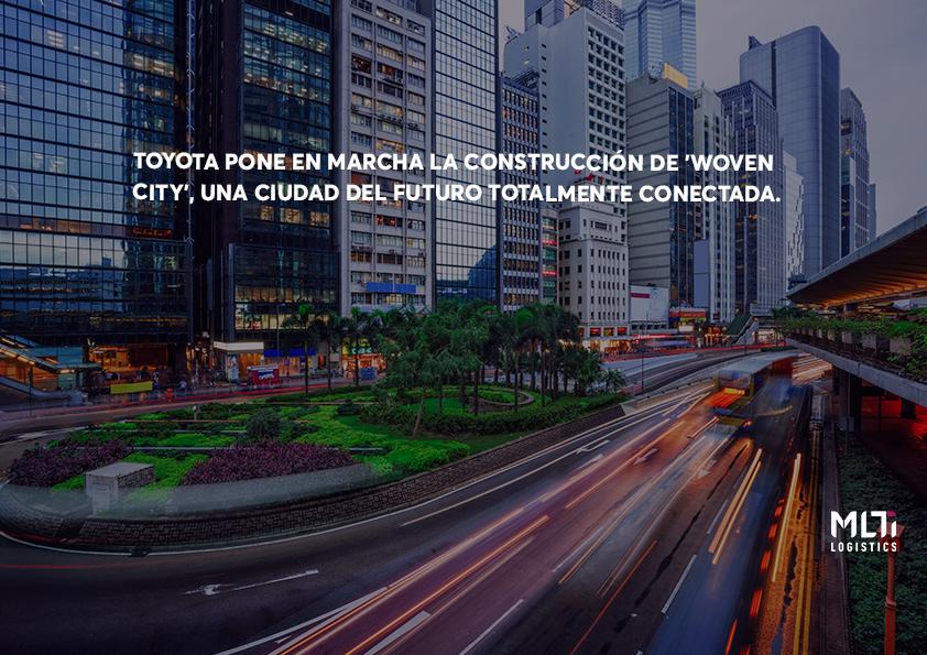 TOYOTA PONE EN MARCHA LA CONSTRUCCIÓN DE 'WOVEN CITY', UNA CIUDAD DEL FUTURO TOTALMENTE CONECTADA